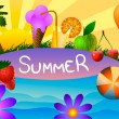 Summer time. — Stock Vector #69680373