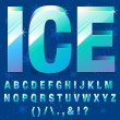 Ice Letters — Stock Vector #60174577