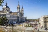 Catedral de madrid — Fotografia Stock