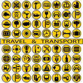 Travel and transport — Stock Vector