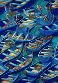 Boat pattern — Stock Photo