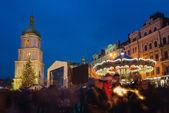 Christmas market in Kiev, Ukraine — Stock Photo