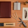 Various office personal things — Stock Photo #63362793