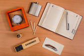 Various office personal things — Foto Stock