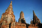 Beautiful Wat Chaiwatthanaram, Thailand — Foto Stock