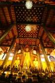 Ordination hall of Wat Chedi Luang, Thailand — Foto de Stock