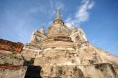 Wat Phra Sri Sanphet, Thailandia — Foto Stock