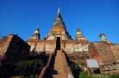 Wat yai chai mongkol, thajsko — Stock fotografie
