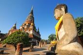 Wat Yai Chaimongkol , Thailand — Stock Photo
