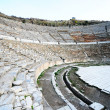 Amphitheater in the ancient city of Ephesus, Turkey — Stock Photo #60638625