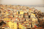 View from Galata tower, Turkey — Stock Photo