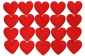 Fabric heart for background — Stock Photo