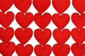 Fabric heart for background — 图库照片