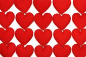 Fabric heart for background — ストック写真