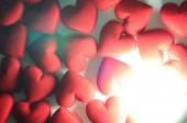 Tkanina serca na białym tle — Zdjęcie stockowe