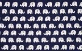 Tela del patrón del elefante — Foto de Stock