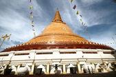 Phra prathom jedi, de grootste pagode van thailand — Stockfoto