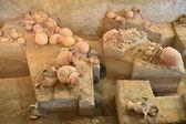 Ancient pottery of Ban Chiang, Thailand — Stock Photo