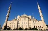 The Blue Mosque, (Sultanahmet Camii), Turkey — Stock Photo