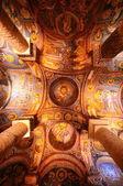 Ancient fresco in Cappadocia — Stock Photo