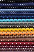 Tkaniny kolorowe kropki na tle — Zdjęcie stockowe