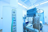 Equipment and medical devices in modern operating room — Stock Photo