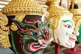 Hua Khon (Thai Traditional Mask) Used in Khon — Stock Photo