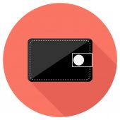 Wallet icon — Stock Vector