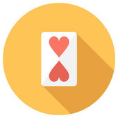 Playing Cards icon — Stock Vector