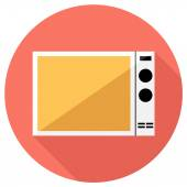Microwave oven icon — Stock Vector
