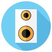 Icône de haut-parleur. — Vecteur
