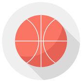 Basketball ball icon. — Stock Vector