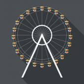 ícone de roda-gigante — Vetorial Stock
