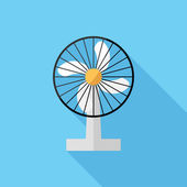 Household electric fan icon — Stock Vector