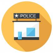 Police icon — Stock Vector
