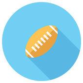 American football icon — Stock Vector
