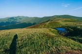 Mountain travel. Road. — Stock Photo