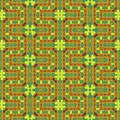 Decorative tile in vivid colors  — Stock Photo