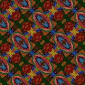 Dark decorative background tile with diagonal strip patterns — Stock Photo