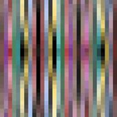 Modern pixelated background with pixels in strips, subtle neutral colors — Stock Vector