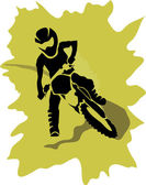 Motorcycle background — Stock Vector