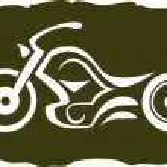 Постер, плакат: Custom motorbike