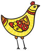Kurczak mały — Wektor stockowy