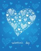Decoração coração — Vetorial Stock