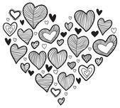 Heart shape — Vetorial Stock