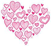 Kształt serca — Wektor stockowy