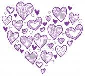 Heart shape — Stok Vektör