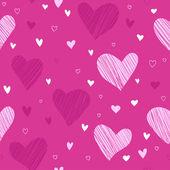 Padrão de amor — Vetorial Stock
