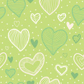 Padrão com corações — Vetorial Stock