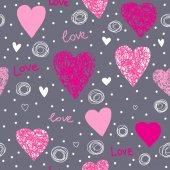 Wzór miłości — Wektor stockowy